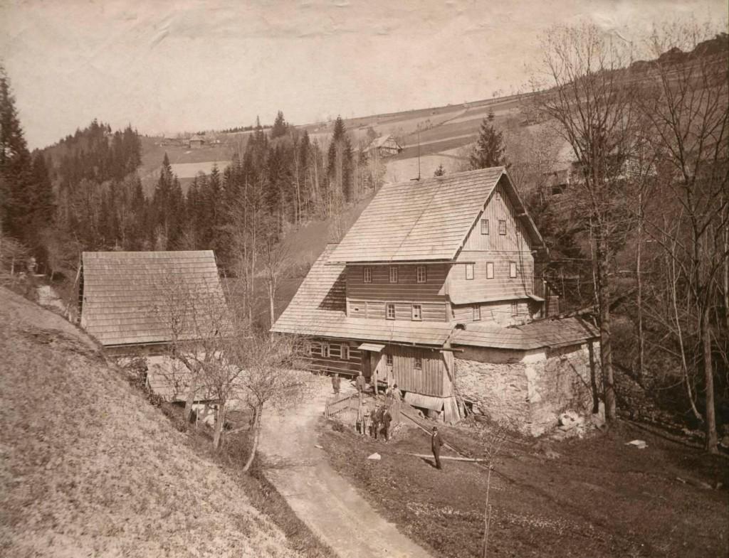 Janatův mlýn, podoba před rokem 1913