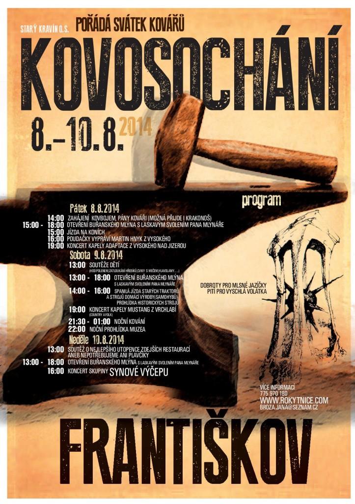 Program Kovosochání 2014